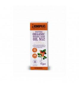 Olio Vegan n. 52 per Capelli Danneggiati e Trattati