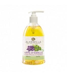 Marseille soap Ecobio Lavender of Provence - Alkemilla | Yumibio