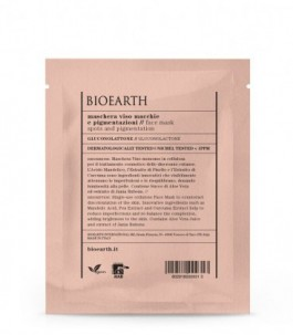Maschera Viso Macchie e Pigmentazioni con Gluconolattone - Bioearth| YumiBio