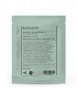Maschera Viso Purificante al Rosmarino - Bioearth| YumiBio