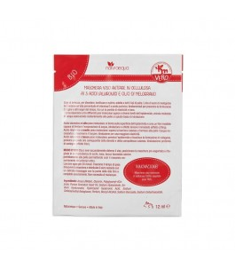 Mask anti-aging treatment with Oil of Pomegranate